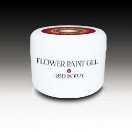 Iconic Flower Paint Gel Red Poppy -Gel professionale per Nail Art